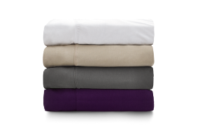 Stack of Purple Sheets