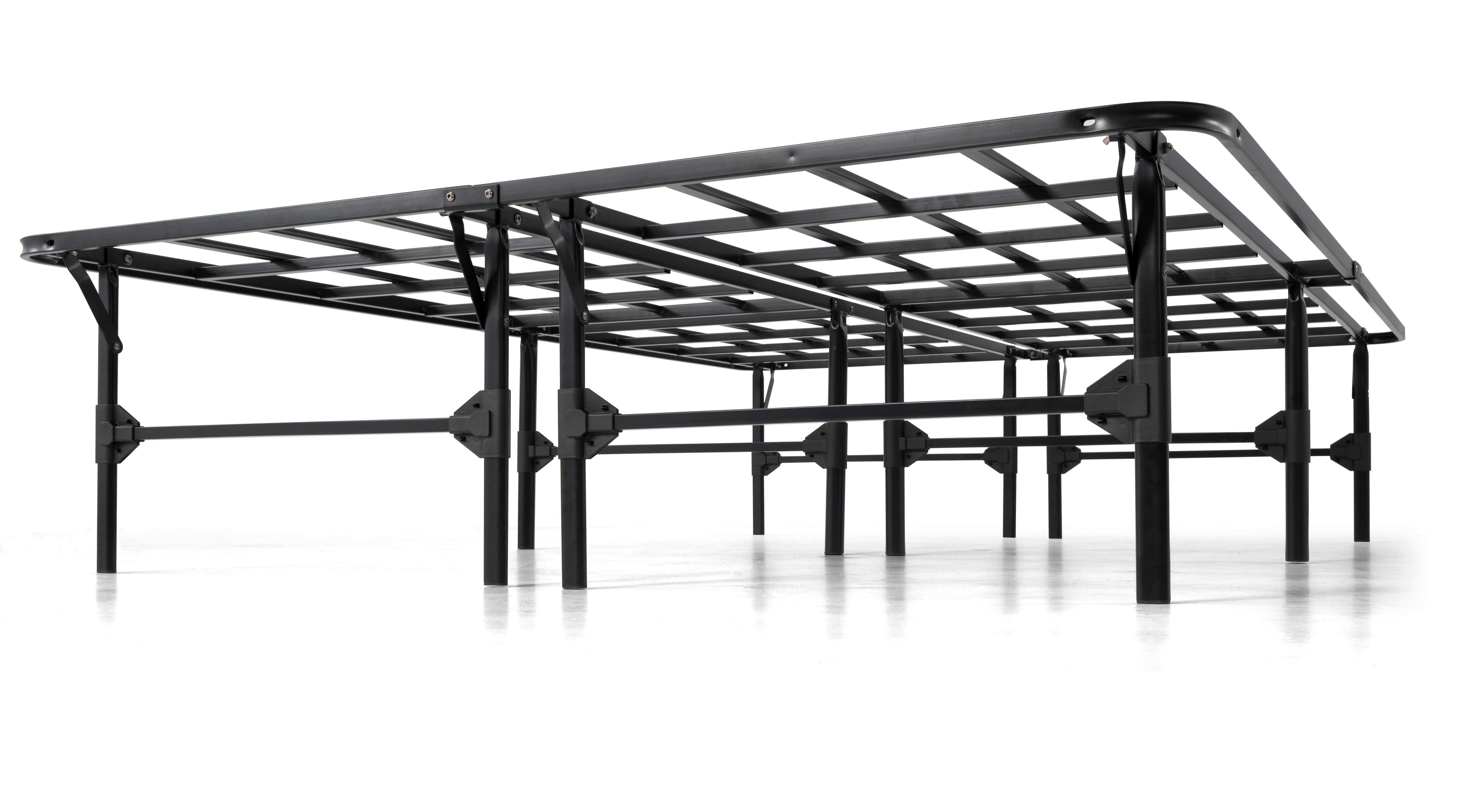 Purple Platform Bed Frame